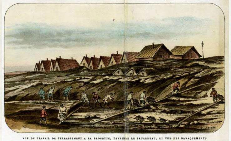 морской канал 18 век