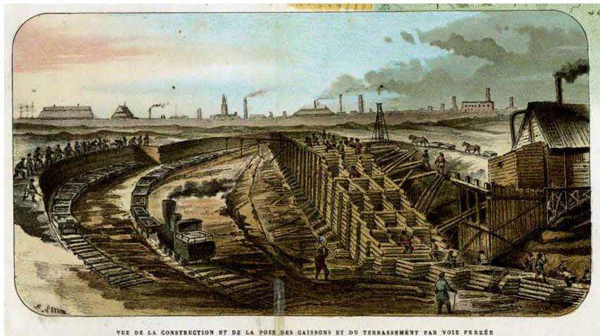 строительство морского канала , морской порт